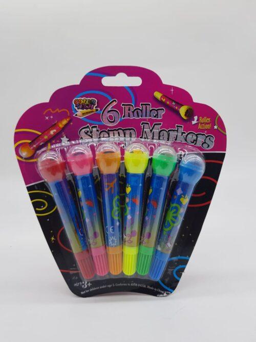 6 Pc Roller Pen