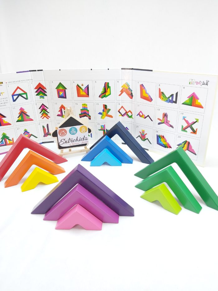 Wooden Angle Bracket Toy - Open End Toy