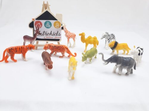 Animals 12 Pcs