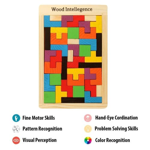 Wooden Intelligence Puzzle