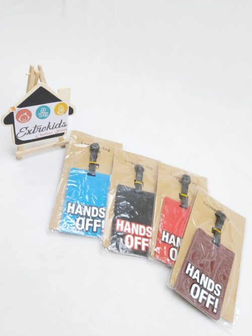 Luggage Tag - hands off