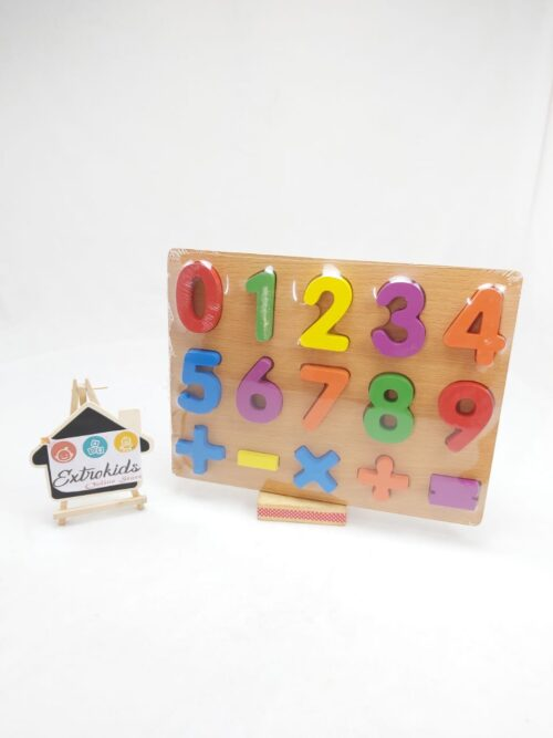 chunky number boards 0-10-with sign symbols
