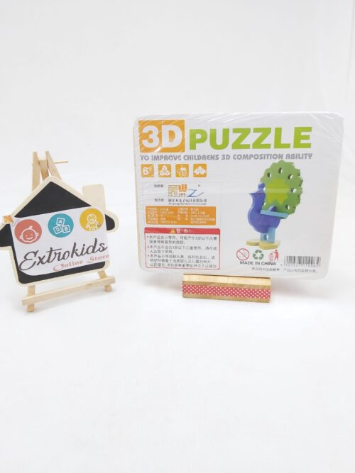 3D PUZZLE - PEACOCK