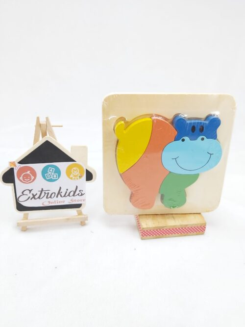 Chunky Animal Puzzles - Small - HIPPO