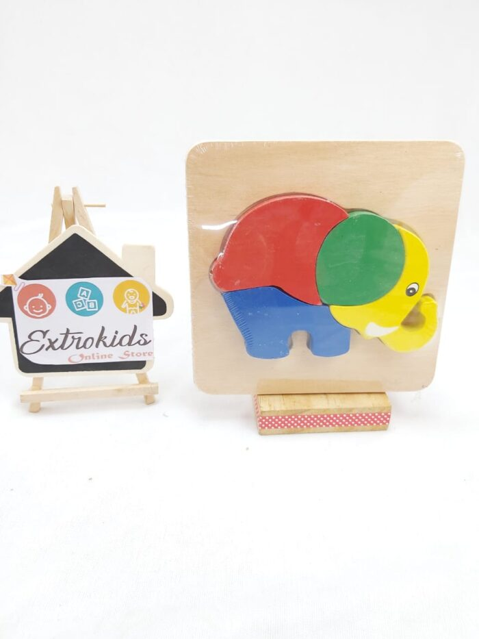 Chunky Animal Puzzles - Small - ELEPHANT
