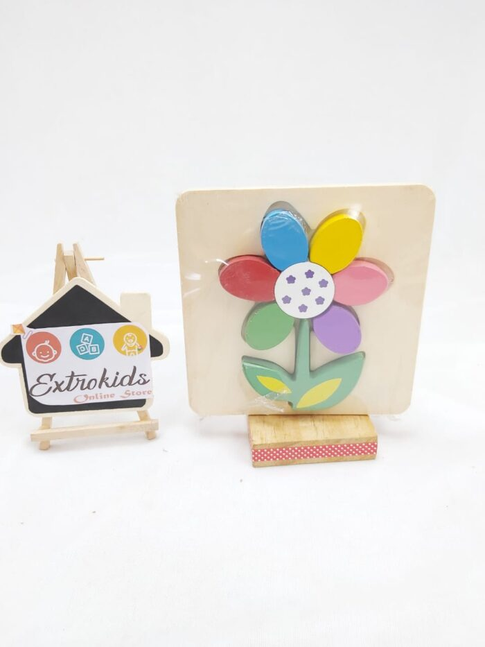 Chunky Animal Puzzles - Small - FLOWER