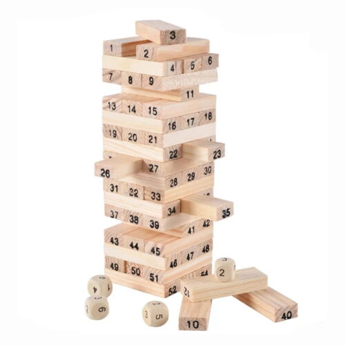 Jenga Blocks Plain