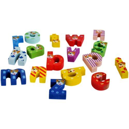 chunky alphabets with tray