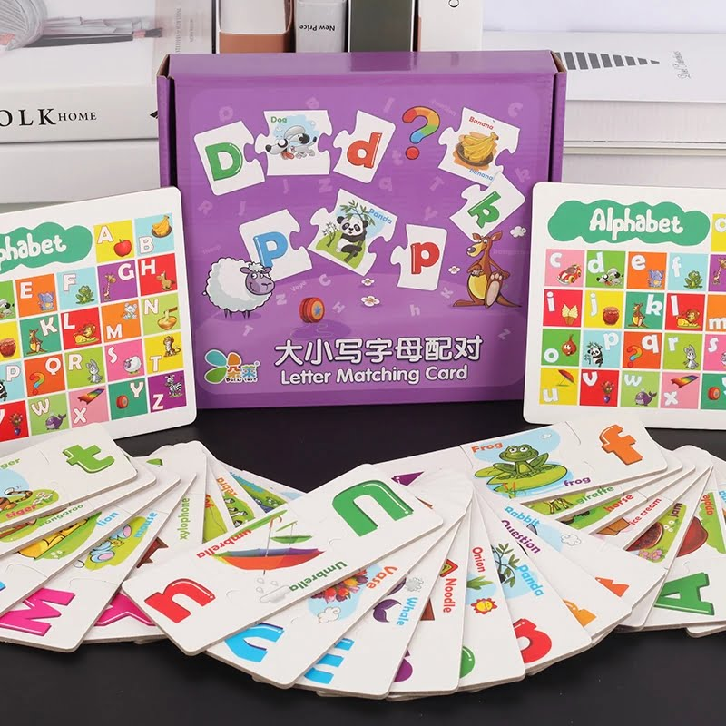 Wooden High quality Alphabet Matching game