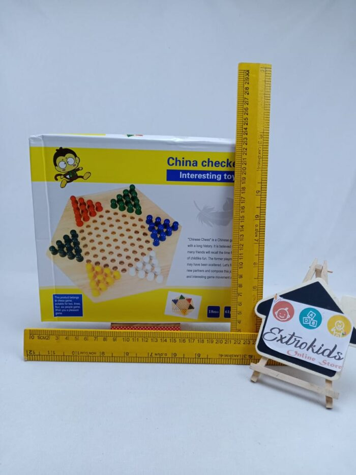 Wooden Toy China Checkers
