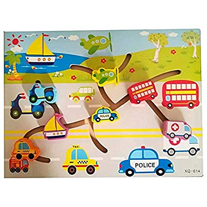 Wooden Toy - Find the Path Game puzzle for Toddlers
