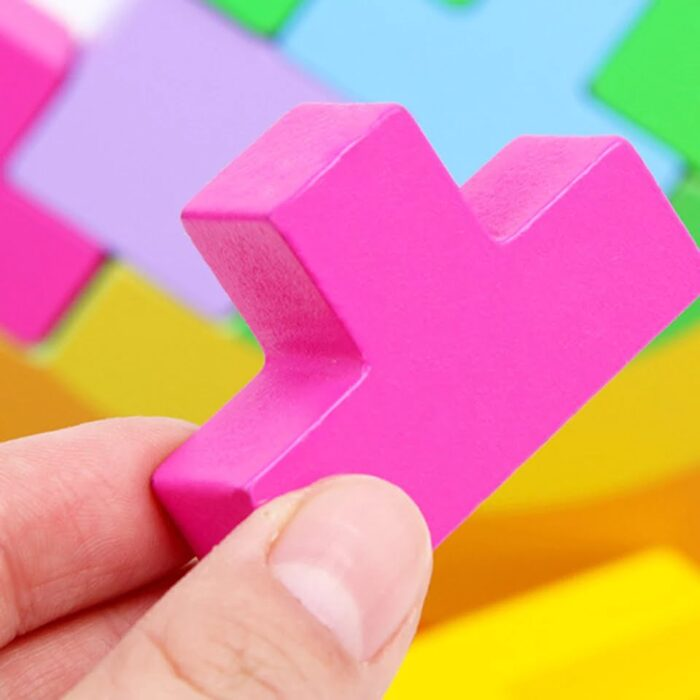 Wooden balancing Toy - Puzzle Type