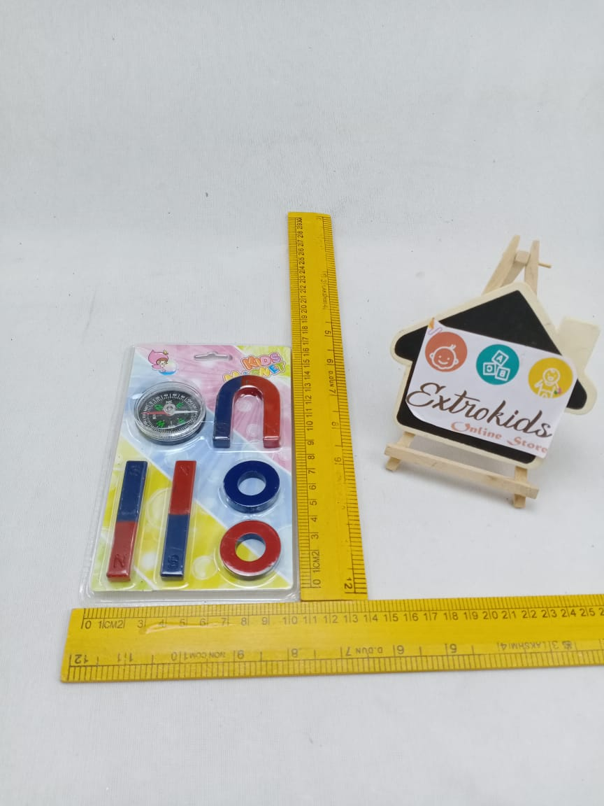 Magnet Game With Compass - 6 Pc