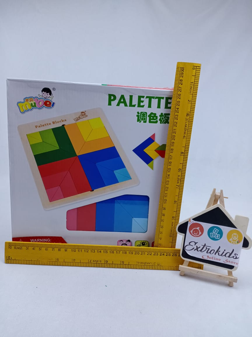 Wooden Palette Blocks - Open ended - can do n no of shapes