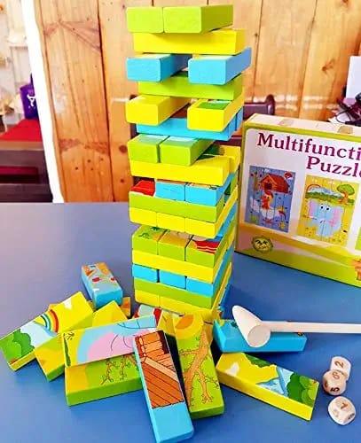 SALE Handmade wooden blocks eco friendly toys children