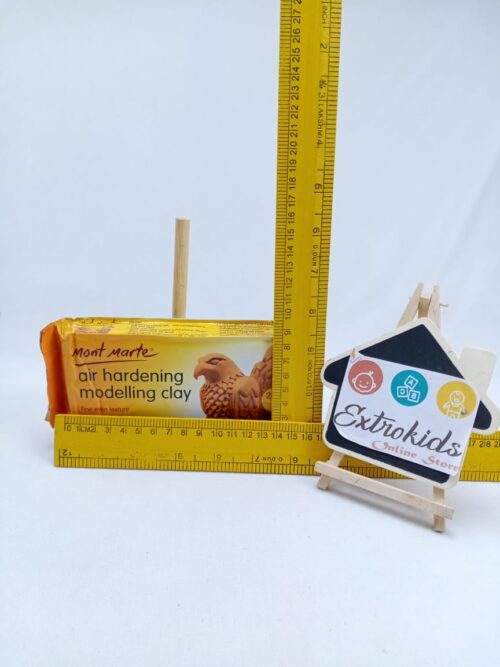 Air Dry Clay - Brown - 500 gm - High Quality - Professional Clay
