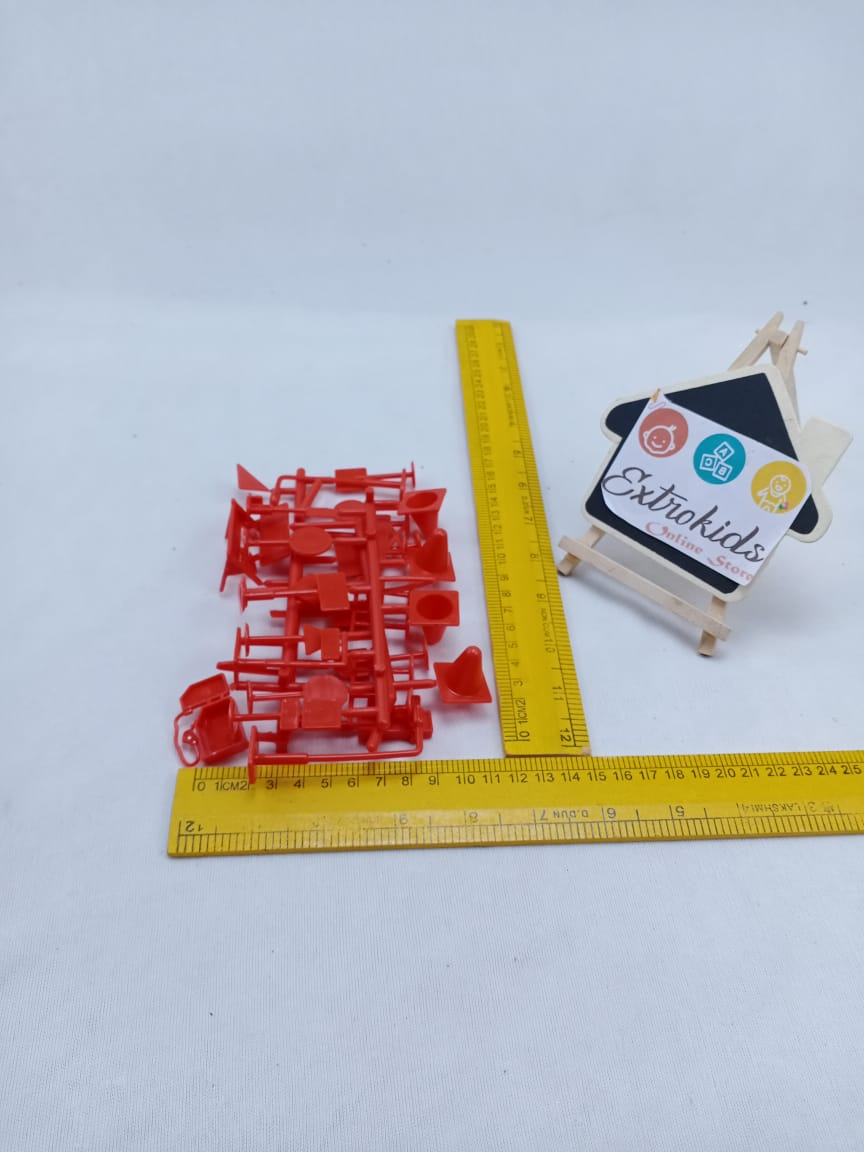 Signal Signs - Miniatures - Red Color