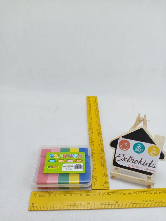 Montessori - Mini Square Wooden Blocks - 20 Pcs
