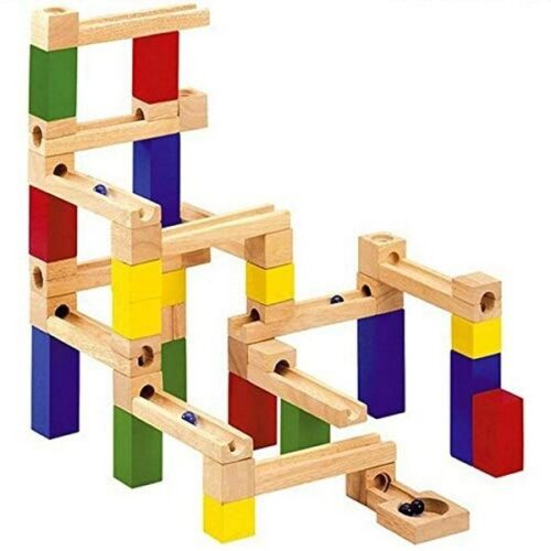 Extrokids Exclusive Wooden Construction marble Slider puzzle Toy For kids