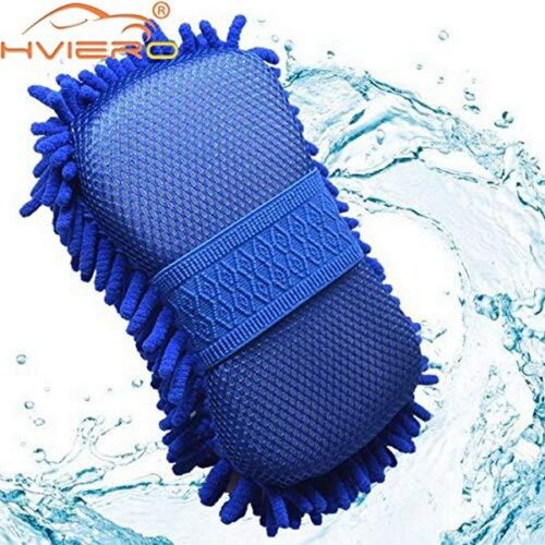 Fashion world Car Styling Real Microfiber Cloth ,Car Motorcycle Washer Cleaning Care Detailing Brushes, Washing Towel Auto Gloves Supplies Accessories