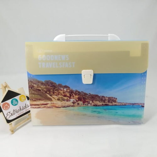 FILE FOLDER with compartments - Good quality