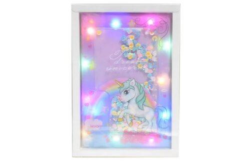 Unicorn LED Light up Notebook Diary / 3 Mode Unicorn Light Diary for Girls/Unicorn Theme Gift