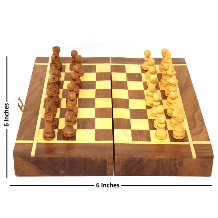 Extrokids   Small 6 Inches chess Board Game Accessories Board Game