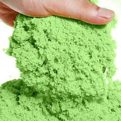Extrokids Magic Kinetic Motion Sand for Kids (Light Green, 1kg) EK1233