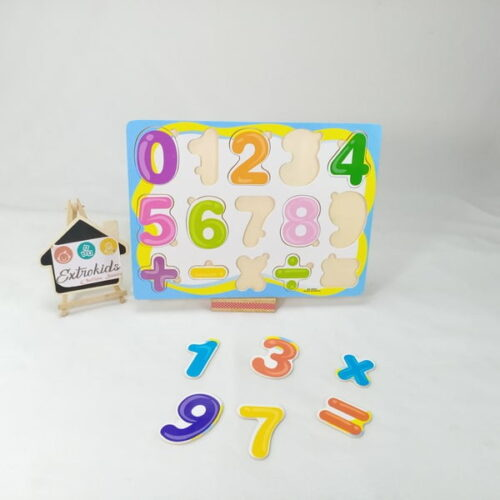 Wooden number boards