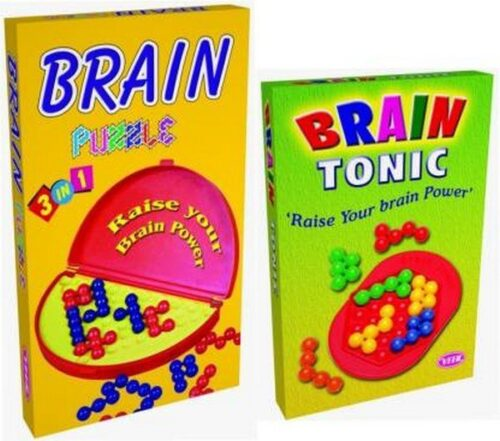 Brain Puzzle 3 in 1 Game - Multicolor