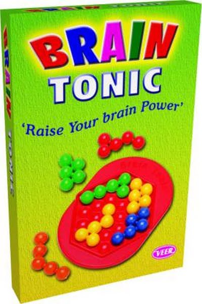 Brain Puzzle & Brain Tonic 3D Brain Teasers Intellectual Brain Power Puzzles for Kids
