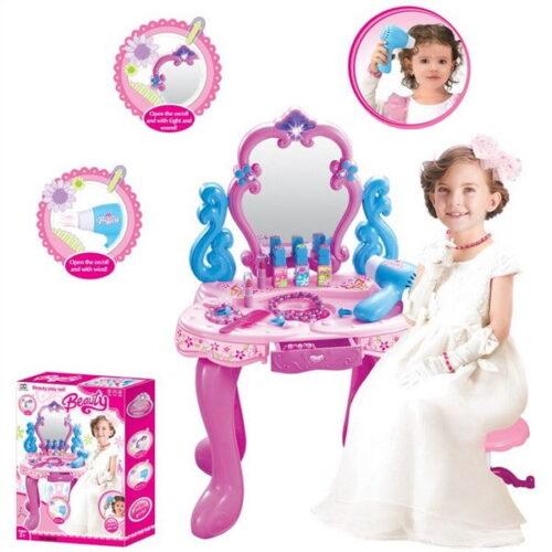 Beauty Dresser Play Set for Girls - Multi Color