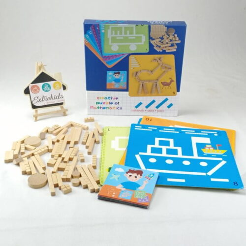 Extrokids Creative Puzzle Of Mathematics EK1522