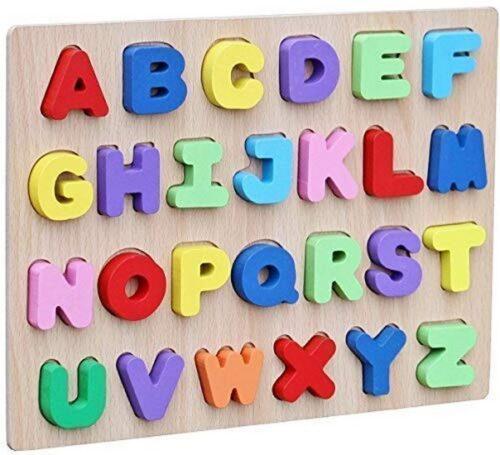 Extrokids Capital  Alphabet Letter Puzzle Board