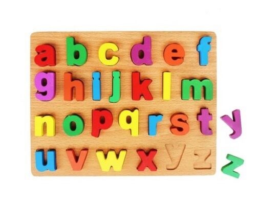 Extrokids Small Alphabet Letter Puzzle Board