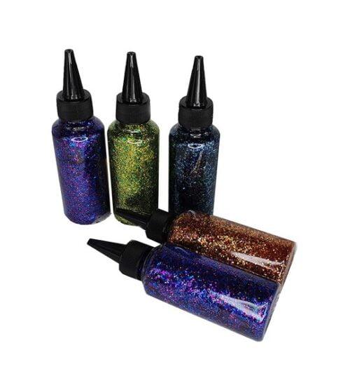 Extrokids Non Toxic  Dark Color Glitter Glue