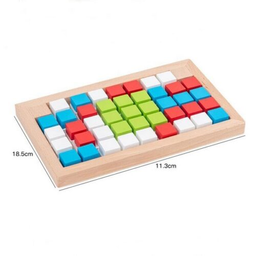Extrokids Wooden Direction Wisdom Assembling Building Blocks Toys - EK1602
