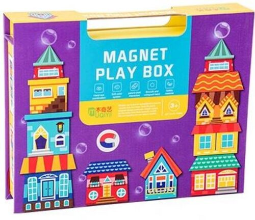 Extrokids Magnet Play Box - Houses - EK1622