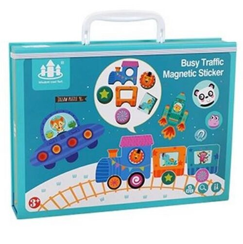 Extrokids Life Learning Magnetic Puzzle Theme: The Busy Traffic - EK1627