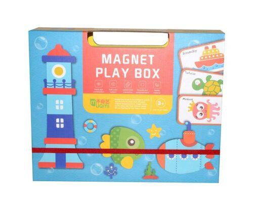 Extrokids Magnetic Puzzle Box Book - Ocean - EK1628