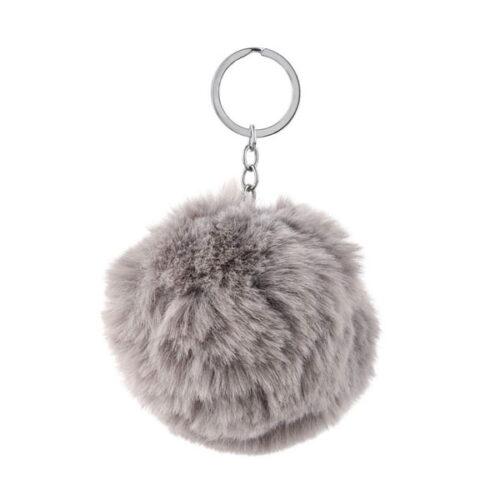 Soft Flulffy Fur Keychain & Key Ring