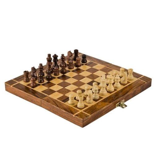 Extrokids 10 Inch Plain Chess Board