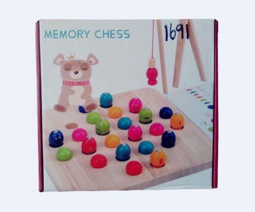 Extrokids Wooden Memory chess - EK1691