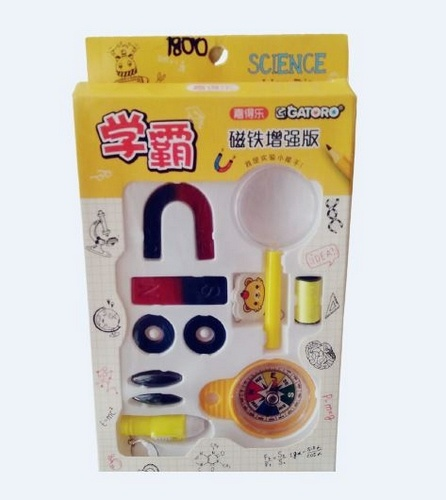 Extrokids Educational and Domestic Use Magnetic Game with Lens and Compass - EK1800