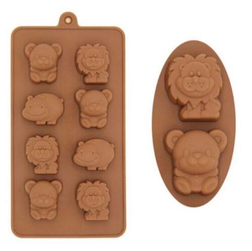Extrokids Chocolate Mould - Animals - EK1817
