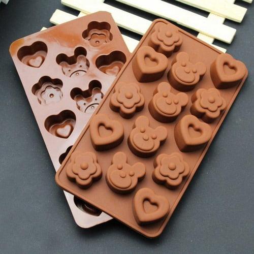 Extrokids Chocolate Mould - Heart - EK1820