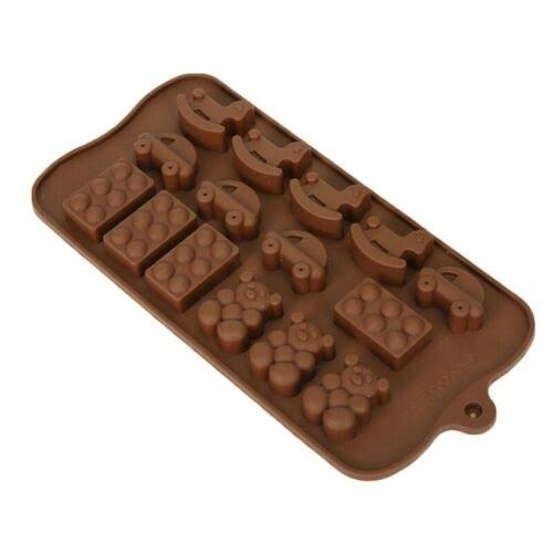 Extrokids Chocolate Mould - Cars - EK1822