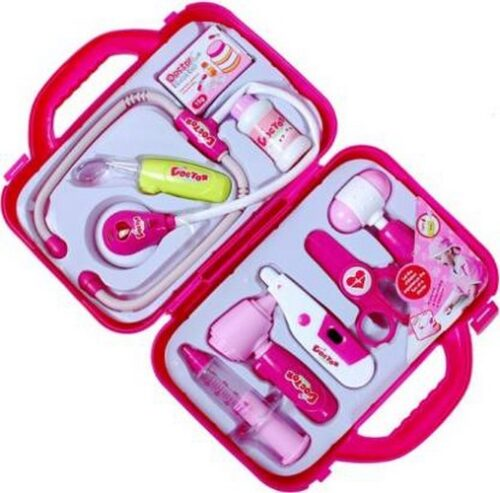 Extrokids Montessori Doctor Nurse Set Family Medical Suitcase Toy - EKR0035