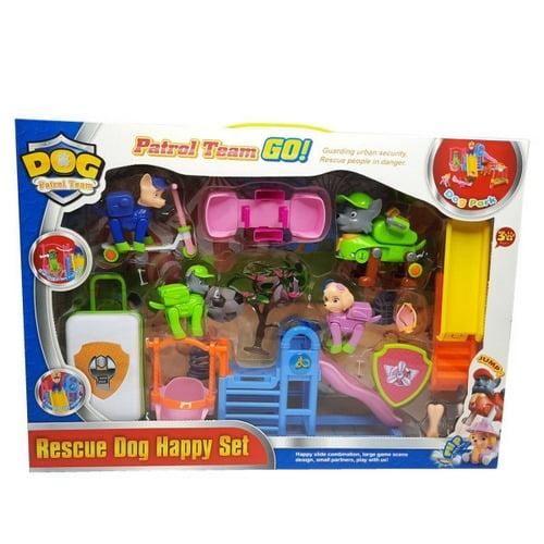 Extrokids Pretend Play Action Rescue Paw Patrol Amusement Park Toy - EKR0043