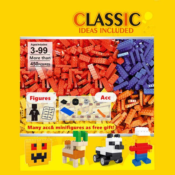 Extrokids 2020 Kids Boy Girl Toys DIY Educational Creative Toys Juguetes City Classic Ideas Building Blocks - EKR0045